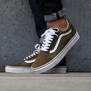 Olive Green Women's Old Skool Vans